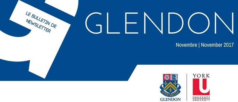 Glendon Newsletter