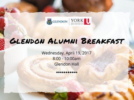 Glendon Alumni Breakfast @ Glendon Hall