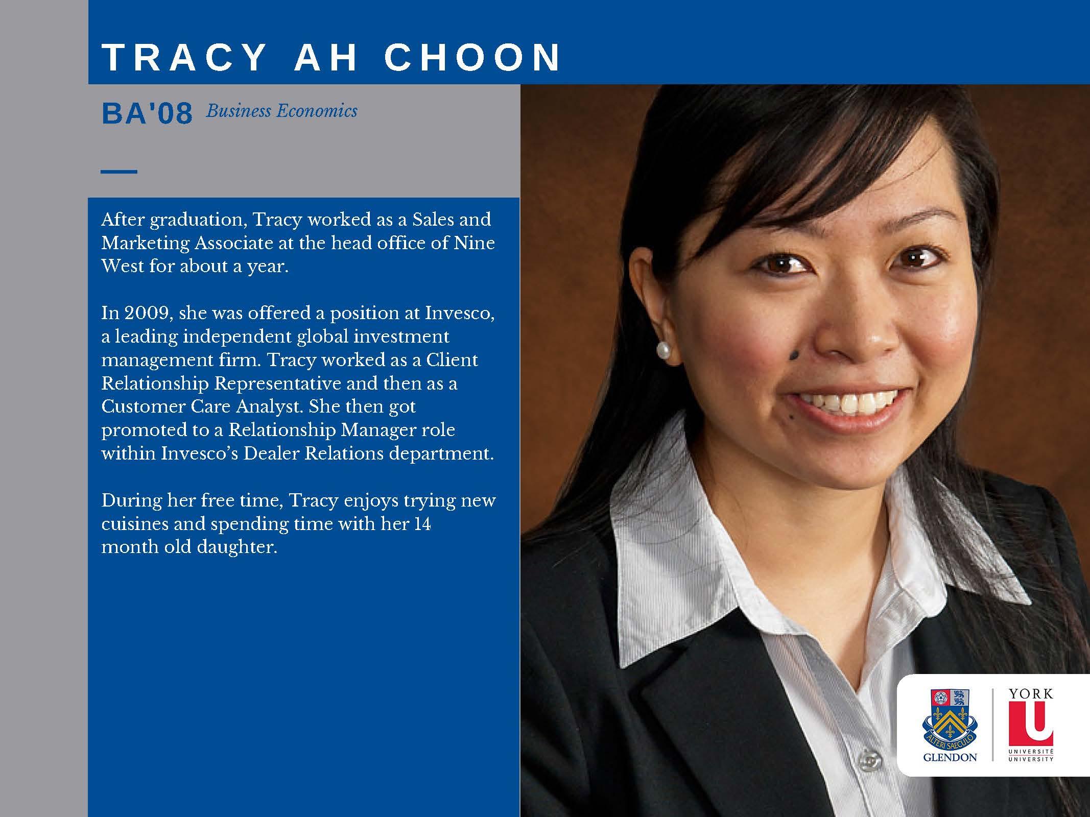 Tracy Ah Choon
