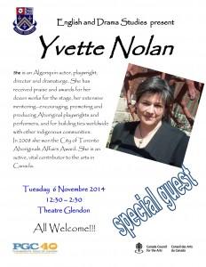 Yvette Nolan nov 2014
