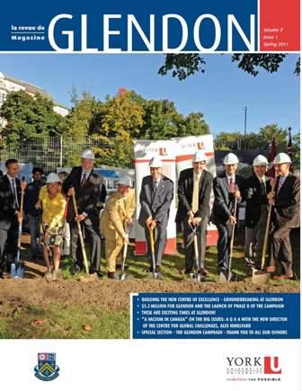 Glendon Magazine Spring 2011