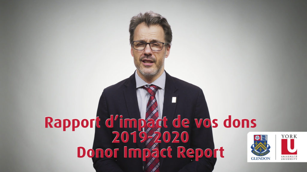2020 Donor report