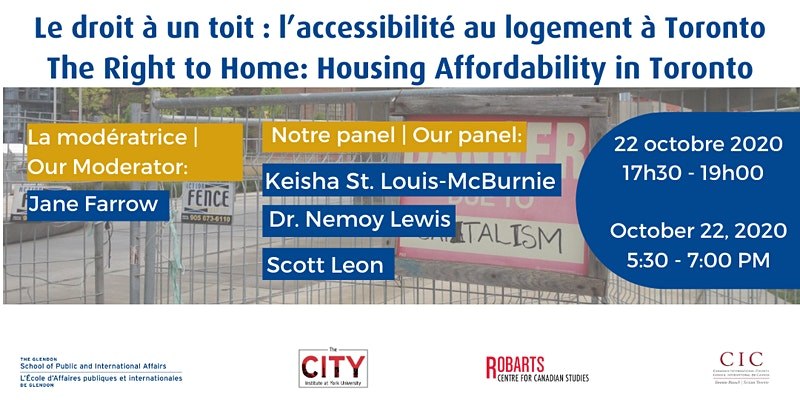 The Right to Home: Housing Affordability in Toronto