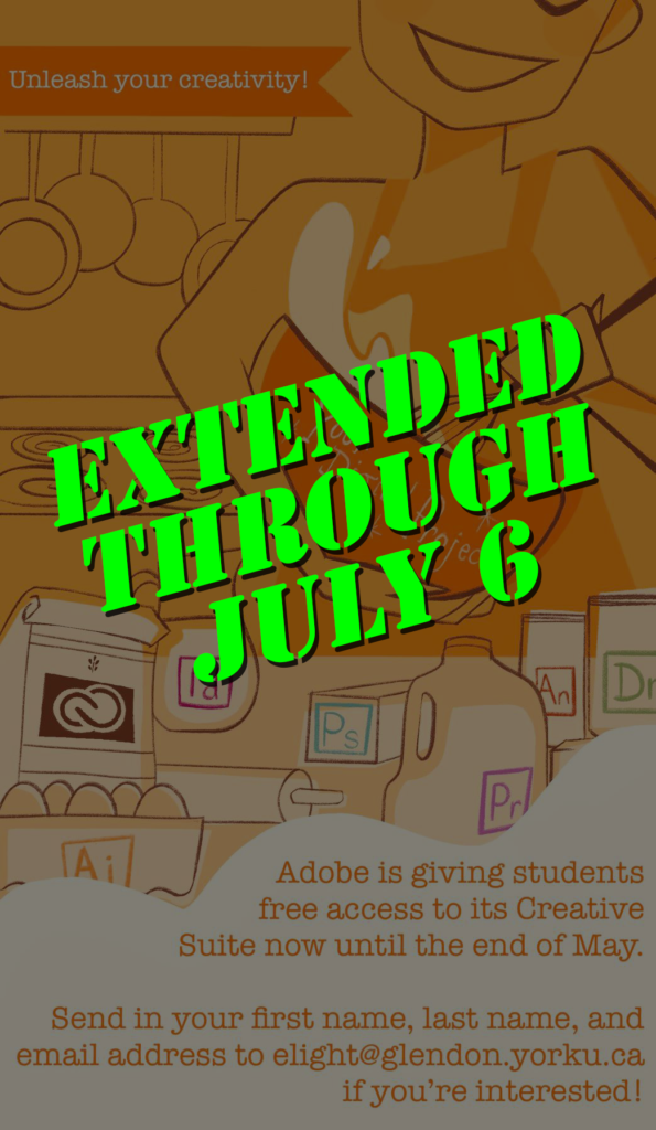 Adobe extended its offer through July 6
