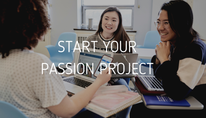 START YOUR PASSION PROJECT-2