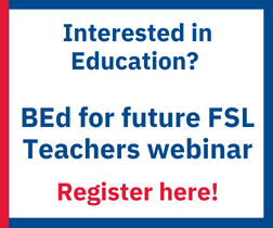 Future FSL teachers webinar