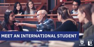 Meet an international student