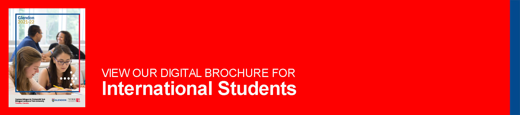 View our digital brochure for international students