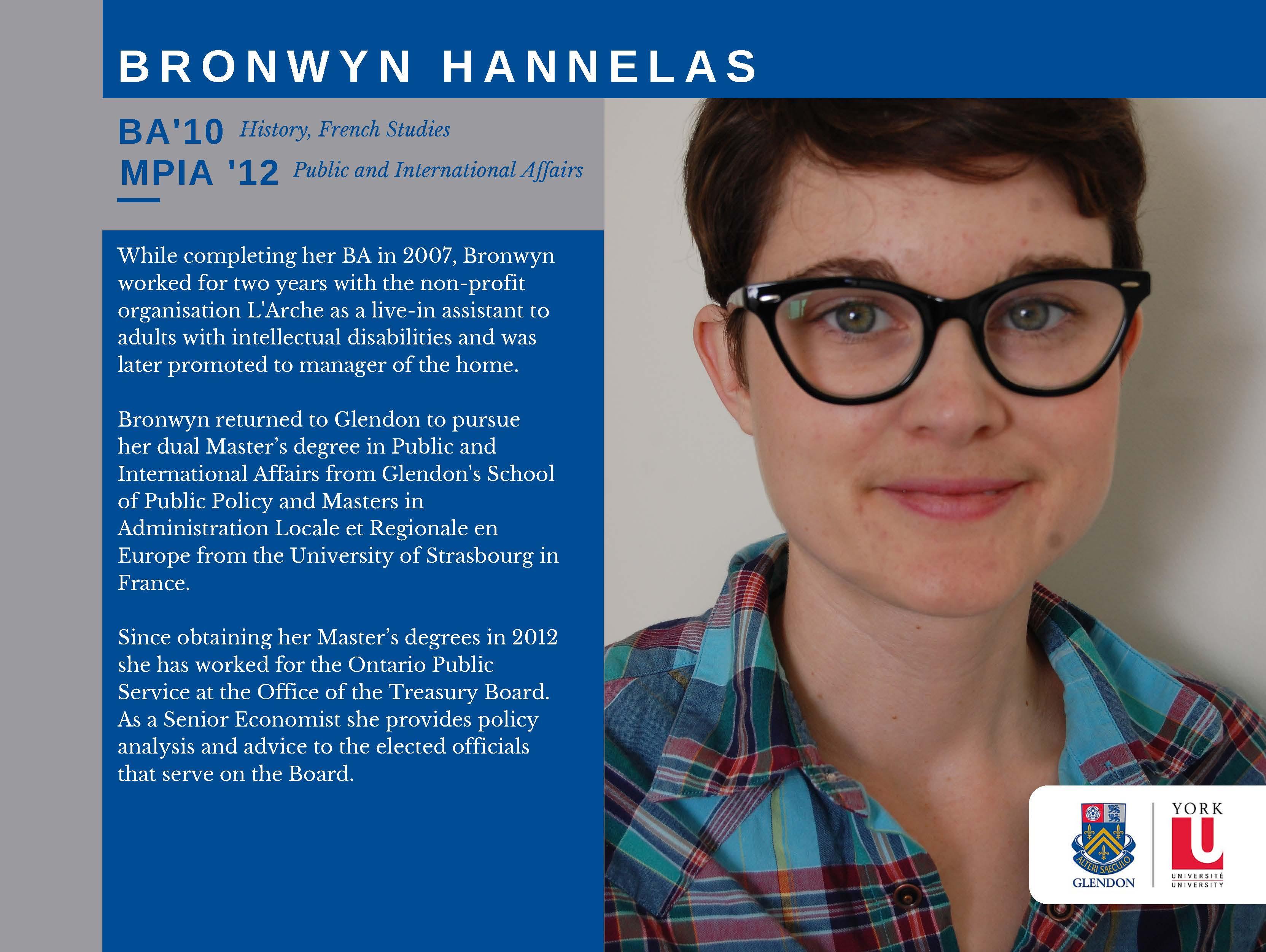 Bronwyn Hannelas