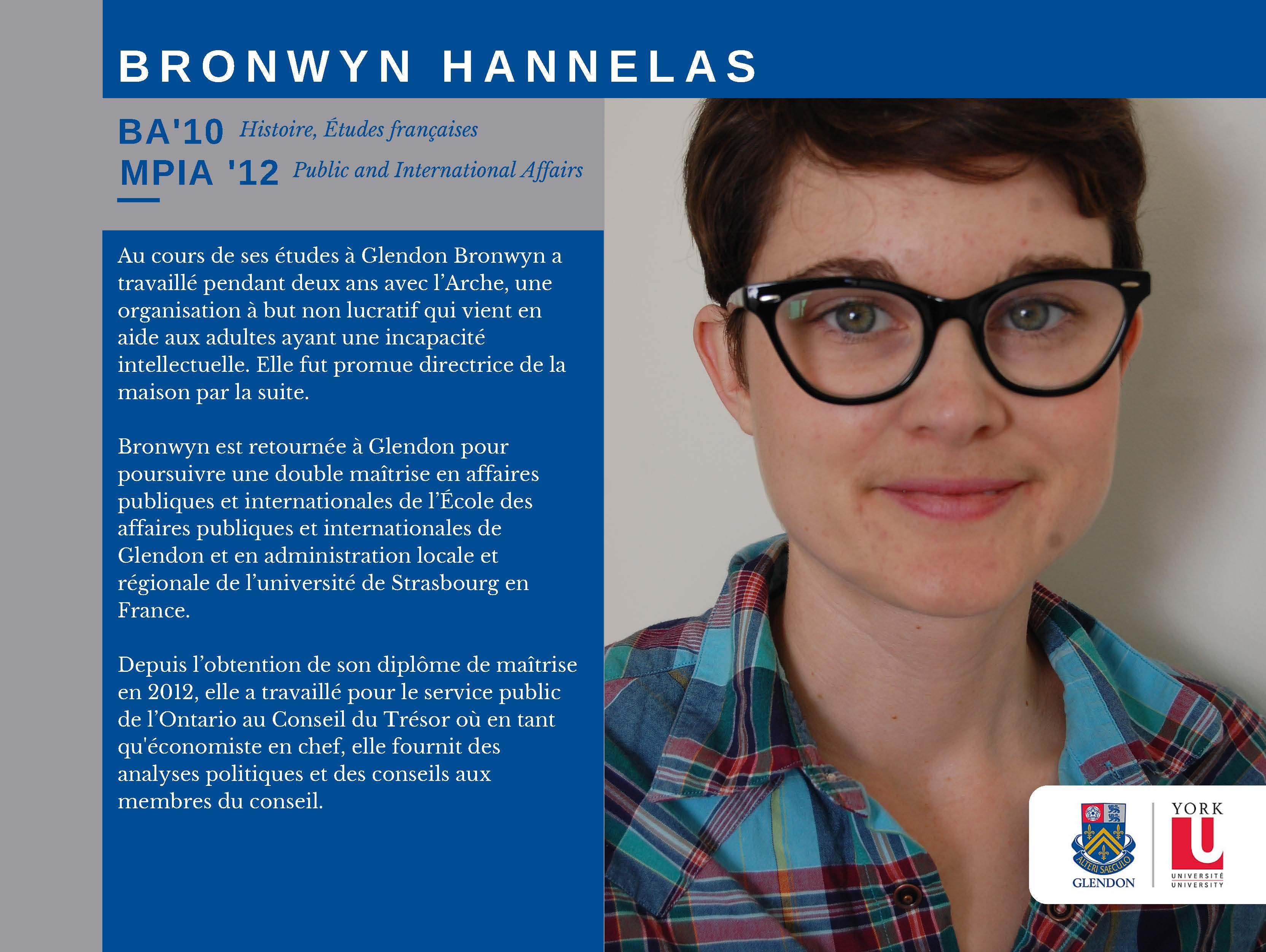 Bronwyn Hannelas FR
