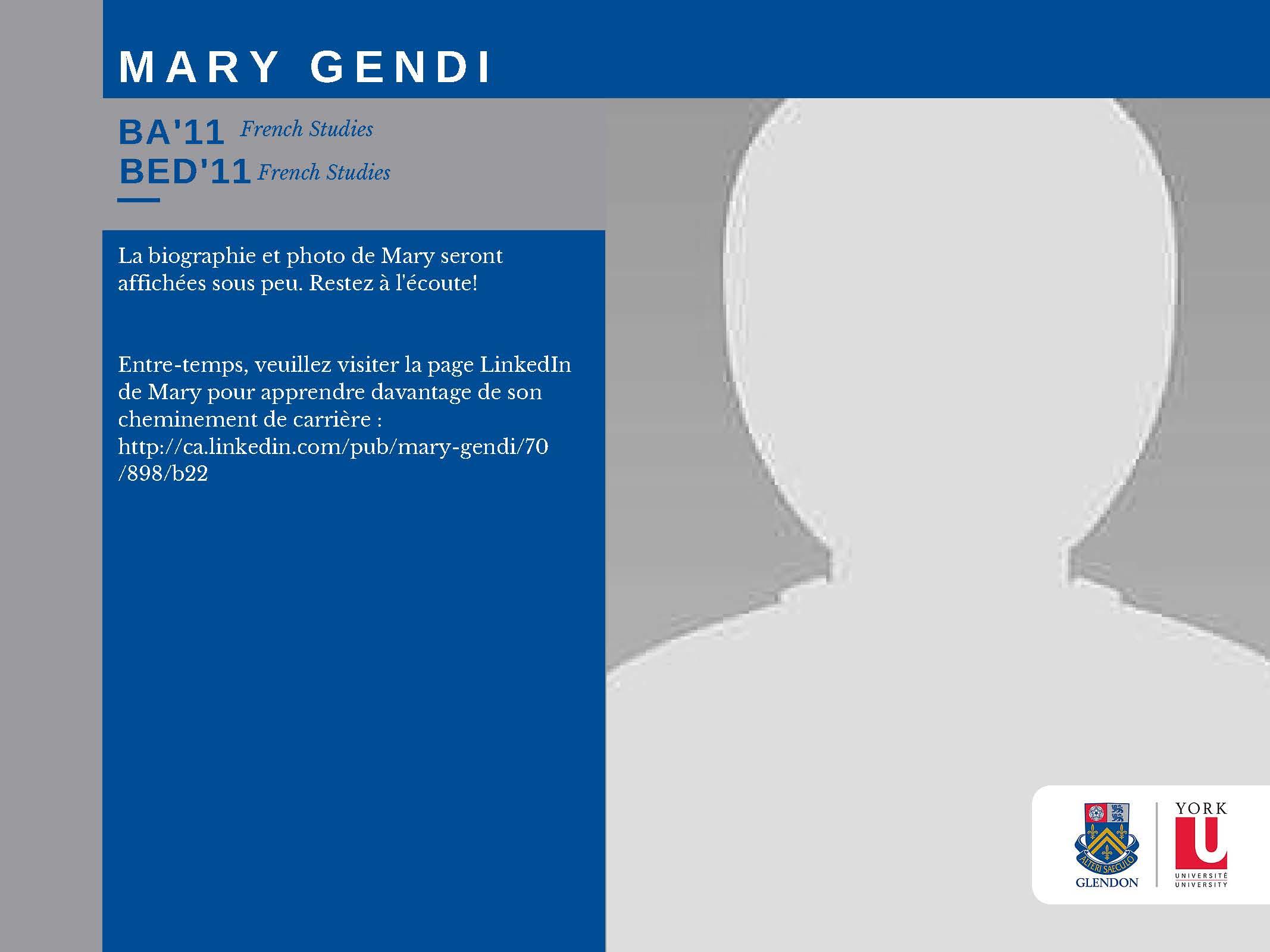 Mary Gendi FR