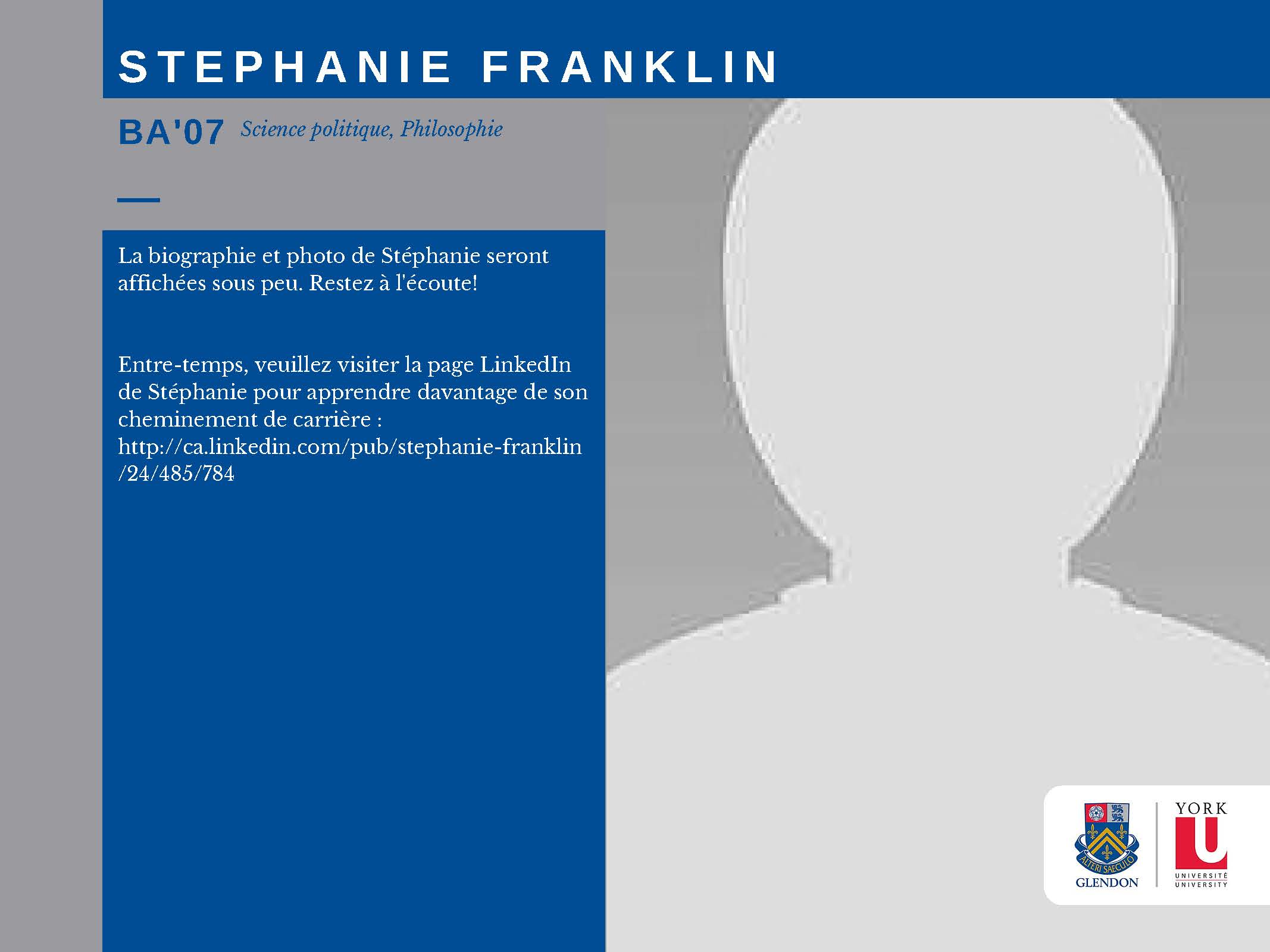 Stephanie Franklin FR