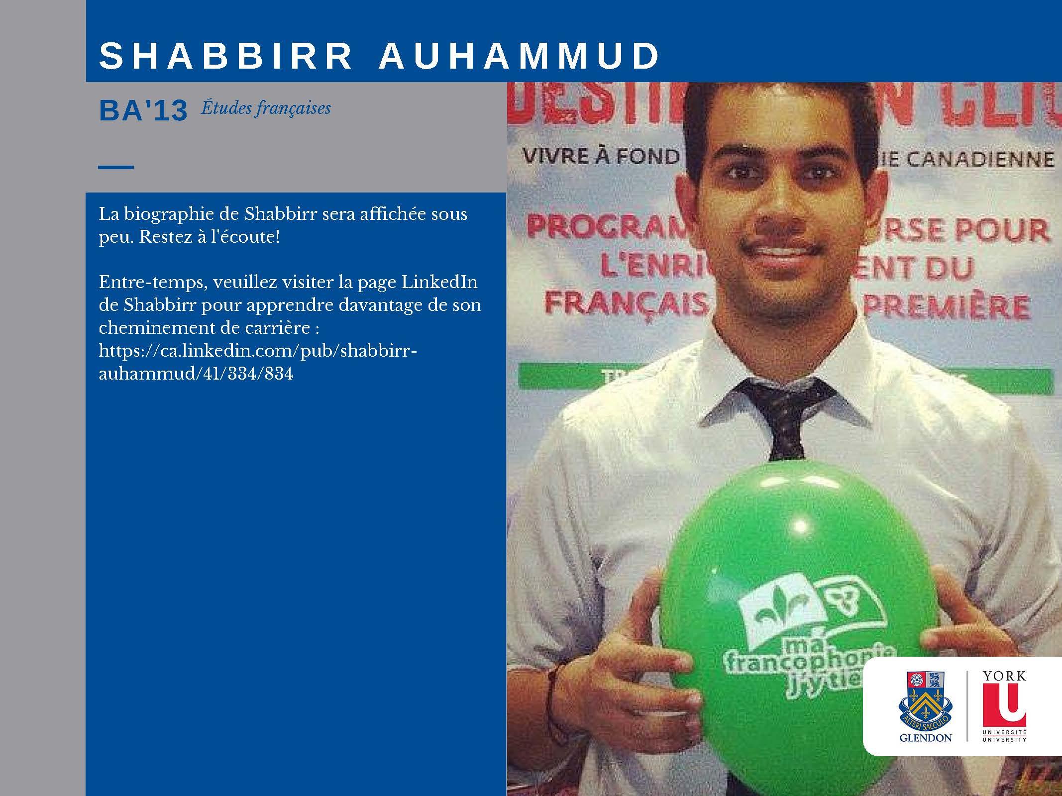 Shabbirr Auhammud FR