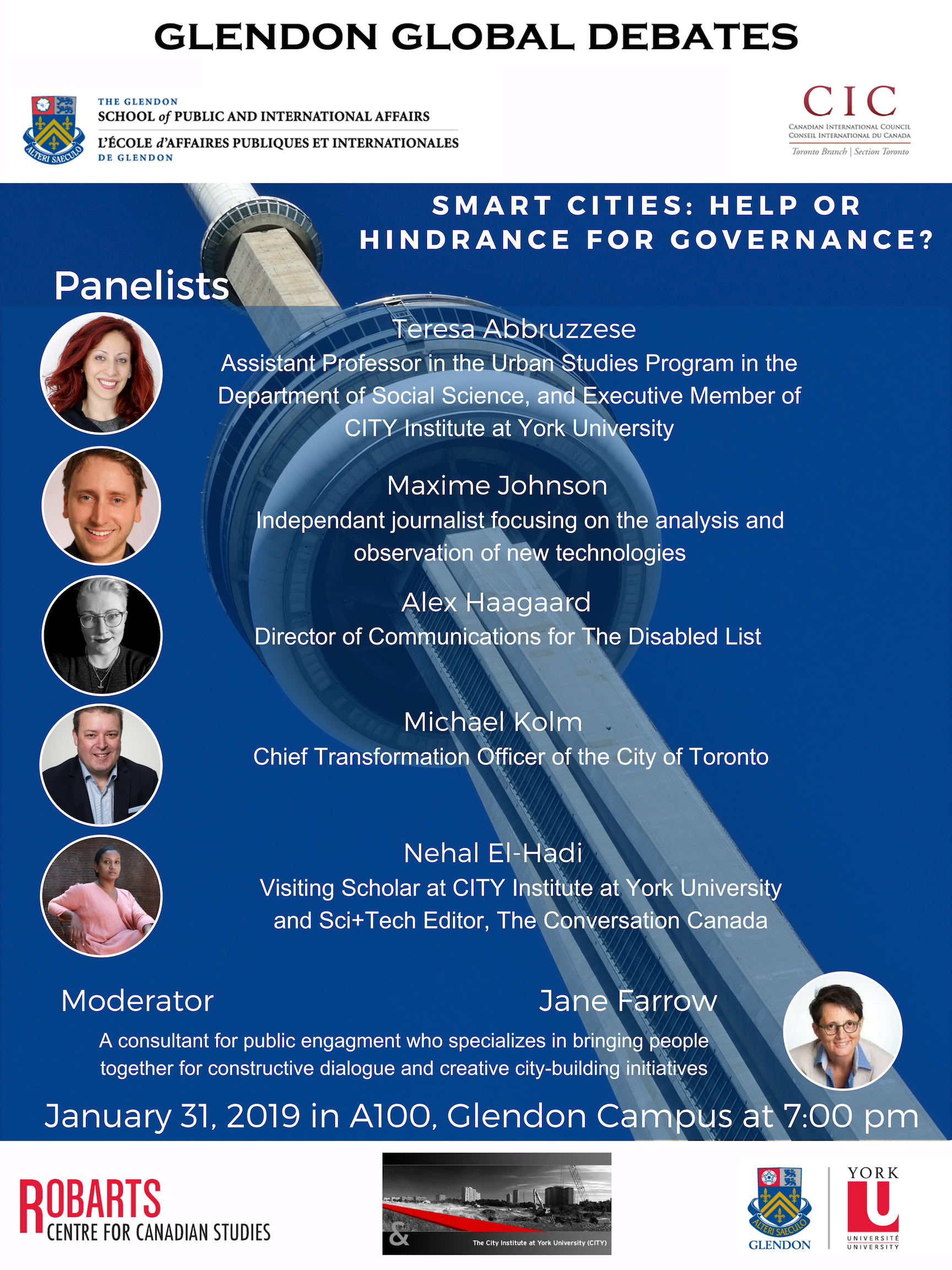 Smart Cities: Help or Hindrance for Governance? @ Centre of Excellence