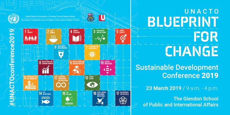 Blueprint for Change: Sustainable Development Conference 2019 @ Centre of Excellence