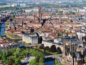 View of Strasbourg
