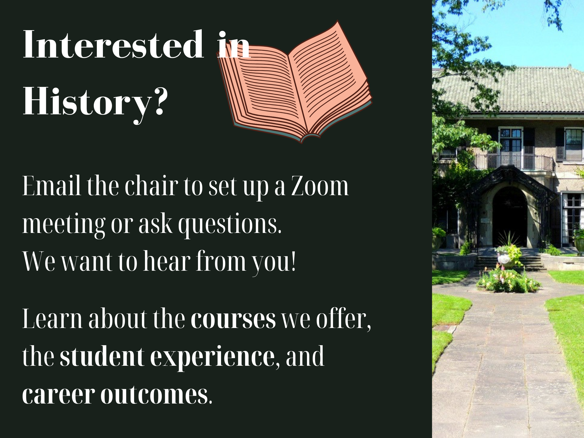 Contact the Chair to ask question about Glendon History