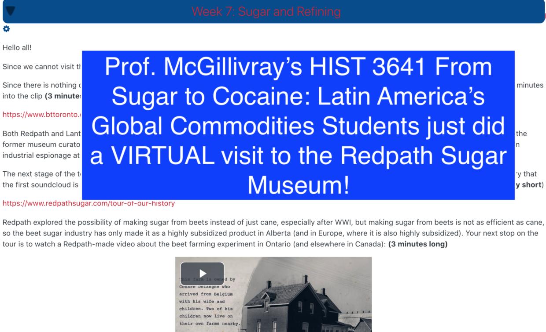 screenshot of virtual visit
