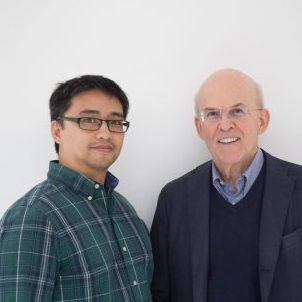 Professors Guy Proulx and Kristoffer Romero