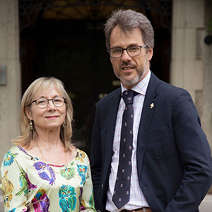 Professors Dominique Scheffel-Dunand and Ian Roberge