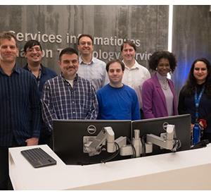 L'équipe des Services technologiques de Glendon